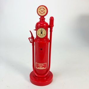 Vintage Chevron Crowl Gasoline Pump Telephone